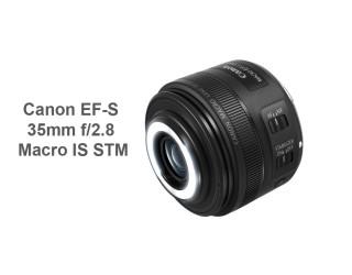 Canon EF-S 35mm f/2.8 Macro IS STM Lens duyuruldu!