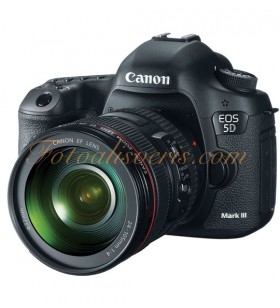 Canon EOS 5D Mark III + 24-105mm L IS USM Lens Kit DSLR Fotoğraf Makinesi