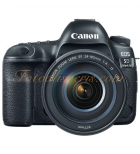 Canon EOS 5D Mark IV + 24-105mm L IS USM Lens Kit DSLR Fotoğraf Makinesi