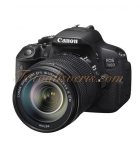 Canon EOS 700D + 18-135mm IS STM Lens Kit DSLR Fotoğraf Makinesi