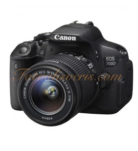 Canon EOS 700D + 18-55mm IS STM Lens Kit DSLR Fotoğraf Makinesi