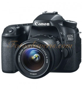 Canon EOS 70D + 18-55mm IS STM Lens Kit DSLR Fotoğraf Makinesi