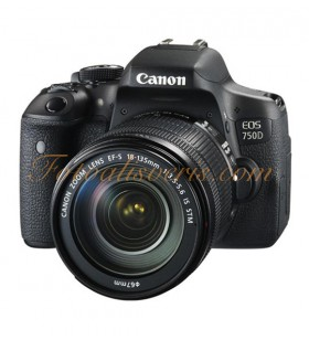 Canon EOS 750D + 18-135mm IS STM Lens Kit DSLR Fotoğraf Makinesi