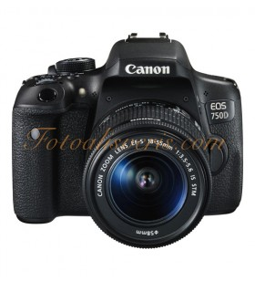 Canon EOS 750D + 18-55mm IS STM Lens Kit DSLR Fotoğraf Makinesi