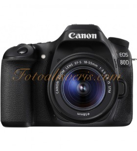 Canon EOS 80D + 18-55mm IS STM Lens Kit DSLR Fotoğraf Makinesi