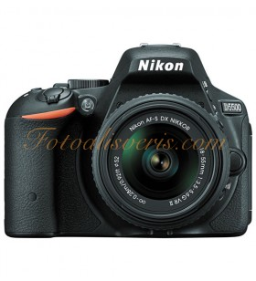 Nikon D5500 + 18-55mm Lens Kit DSLR Fotoğraf Makinesi