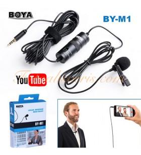 Boya BY-M1 Profesyonel Youtuber Yaka Mikrofonu