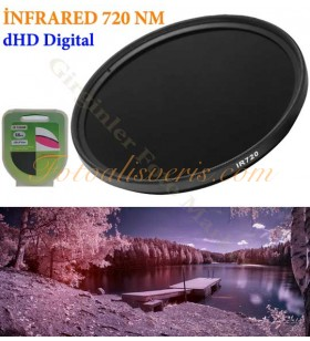 Digital HD 55mm IR İnfrared 720nm Kızılötesi Filtre