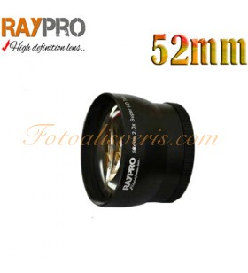 Raypro 52mm 2x Super HD Tele Conversion Lens