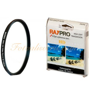 Raypro 67mm HD Ultra Slim UV Filtre Canon 18-135mm & 10-18mm