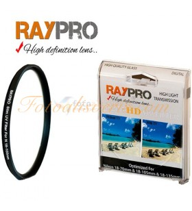 Raypro 67mm HD Ultra Slim UV Filtre Nikon 18-105mm & 18-140mm