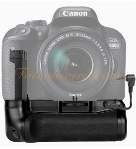 Canon EOS 77D ve 800D Uyumlu Battery Grip