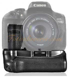 Samtian Canon EOS 750D ve 760D Uyumlu BG-E18 Battery Grip