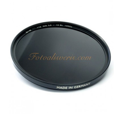 B+W 62mm ND 110E 3.0 (1000x) Coated Neutral Density Filtre