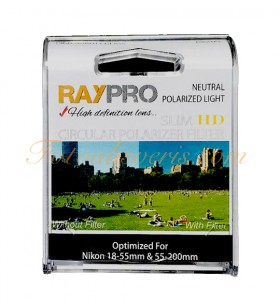 Raypro 52mm HD Slim POLARİZE Filtre Nikon 18-55mm & 55-200mm