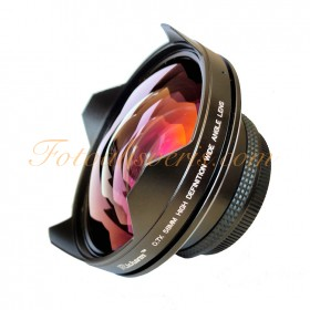 Raypro Richarm 58mm 0.7x Non Vignetting Non Distortion Geniş Açı Konvertör Lens