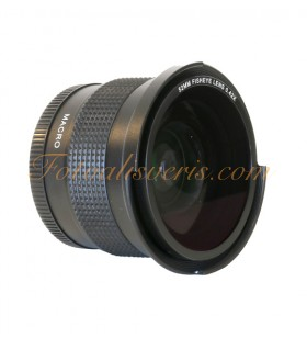 Raypro 52mm 0.42x Super HD Fisheye + 12.5 Dioptri Macro Lens