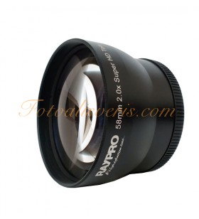 Raypro 58mm 2x Super HD Tele Conversion Lens