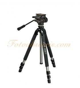 Slik Pro 700DX + 504QF II Head Video Tripod