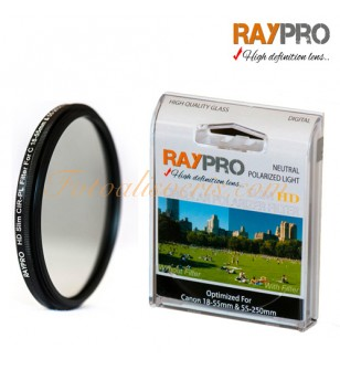 Raypro 58mm HD Slim POLARİZE Filtre Canon 18-55mm & 55-250mm