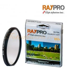 Raypro 67mm HD Slim POLARİZE Filtre Nikon 18-105mm & 18-140mm
