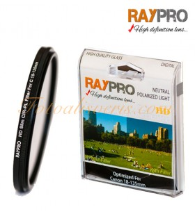 Raypro 67mm HD Slim POLARİZE Filtre Canon 18-135mm & 10-18mm