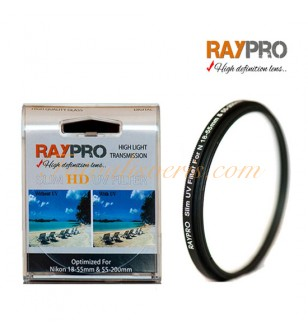Raypro 52mm HD Slim UV Filtre Nikon 18-55mm & 55-200mm