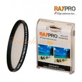 Raypro 58mm HD Slim UV Filtre Canon 18-55mm & 55-250mm